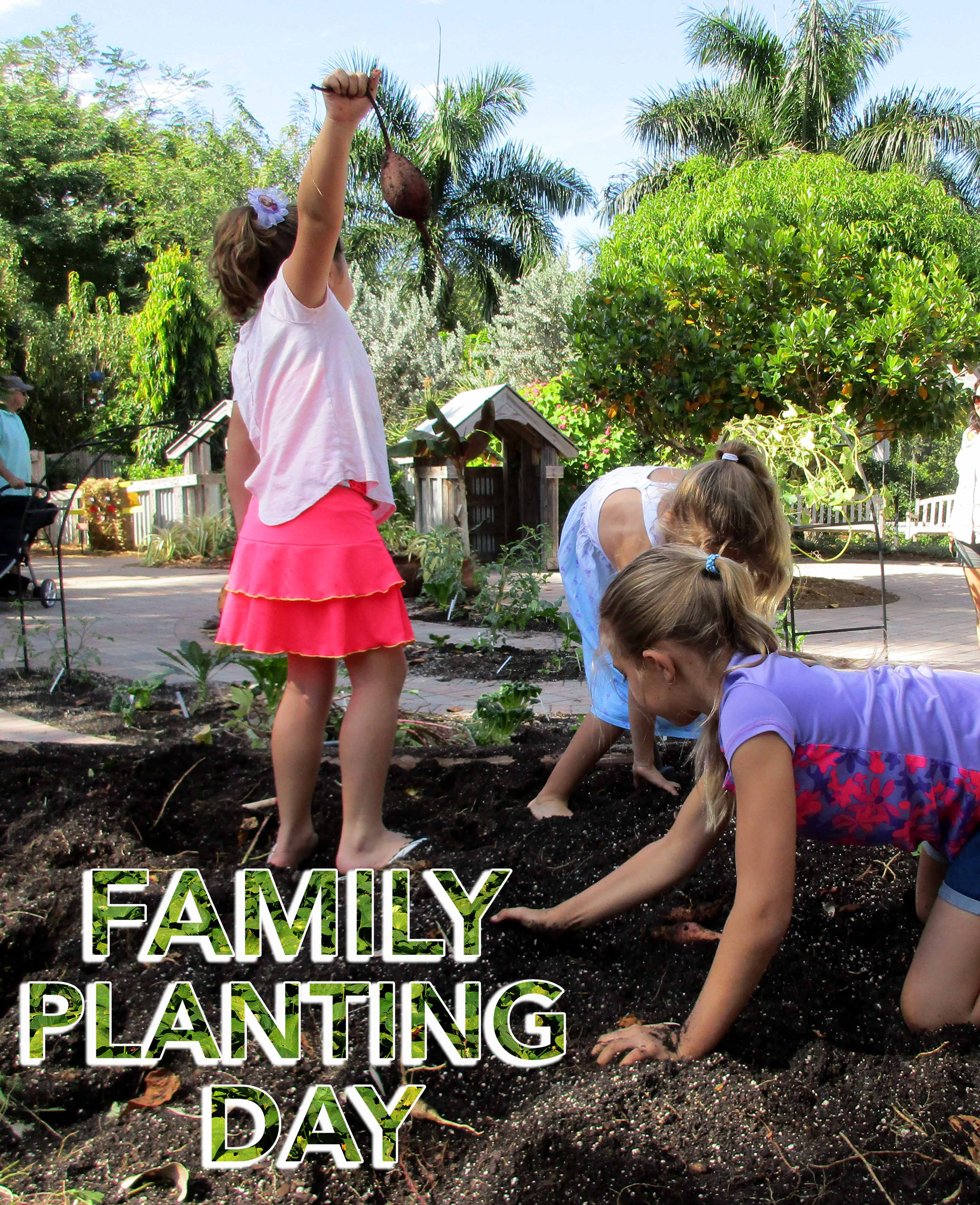 Family Planting Day
